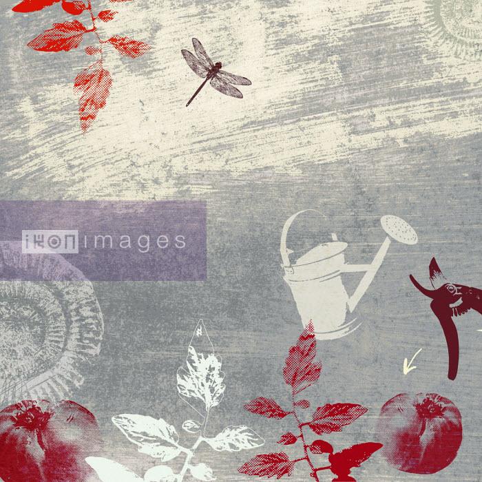 Lee Woodgate - Gardening collage