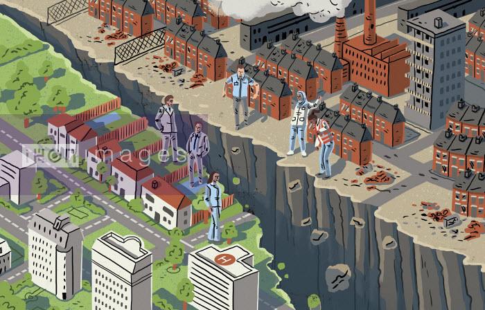 Eva Bee - Divide opening between rich and poor