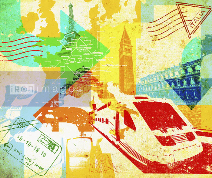 Lee Woodgate - European rail travel