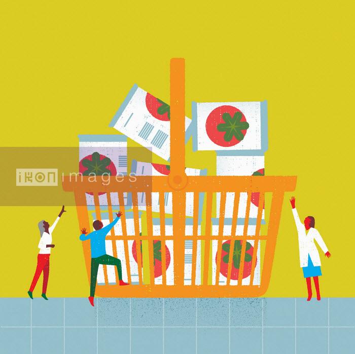 People struggling to get groceries - Gillian Blease