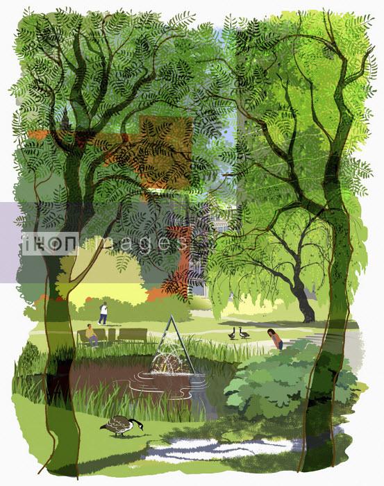 Aston University lake - Jan Bowman