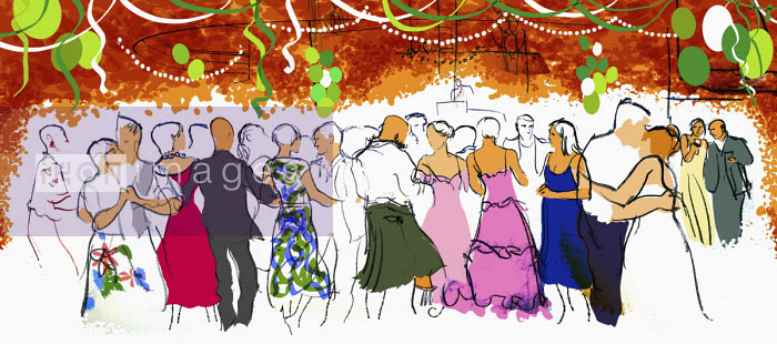 People dancing at party - Jan Bowman