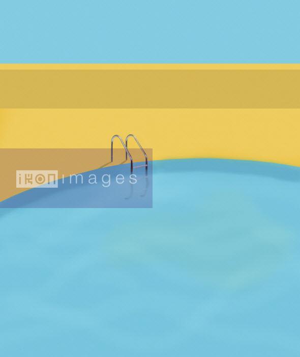Empty swimming pool - Gary Waters