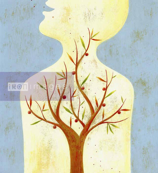 Fruit tree growing inside of human body - Tommaso D'Incalci