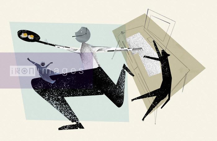 Working parent multitasking - Eddie Edwards