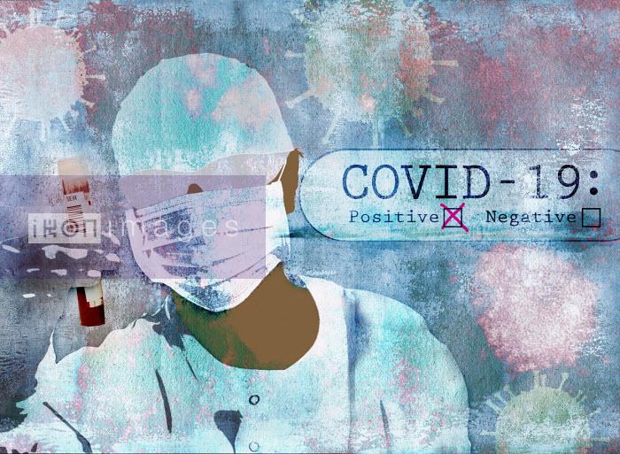 Scientist testing for coronavirus - Roy Scott