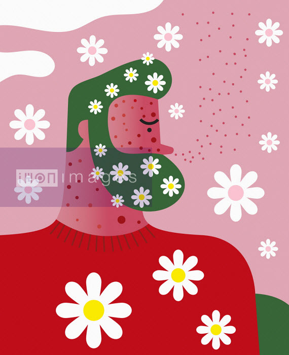 Man suffering from hay fever - Verónica Grech