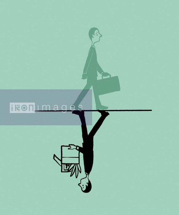 Businessman losing job - Michael Villegas