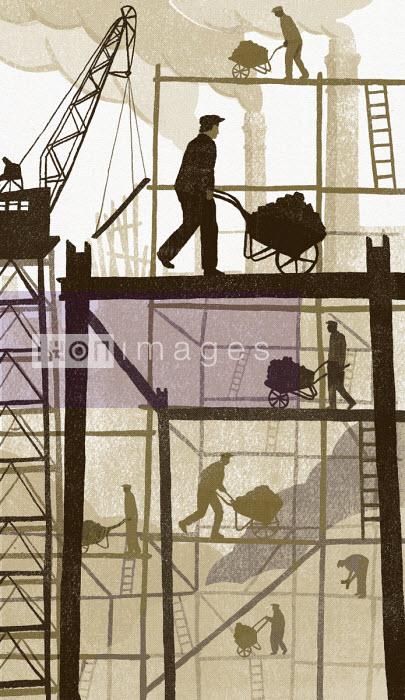 Old fashioned building site - Daniel Haskett