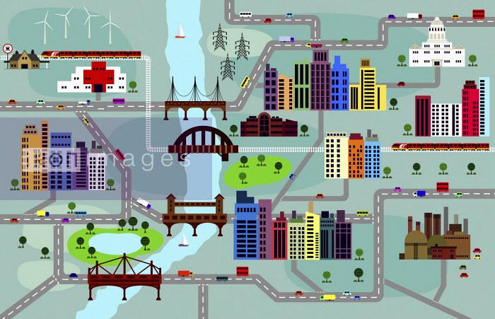 City layout - Ade Akinrujomu