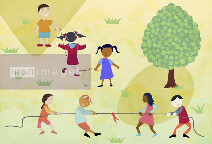 Children having fun playing together - Andrea Ebert