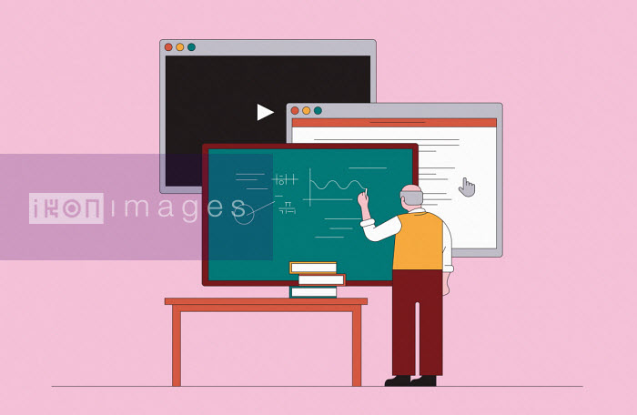 Progress in teaching from blackboard through interactive screen to video technology - Harry Haysom