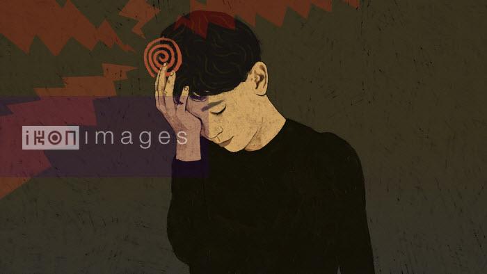 Boy with headache - Rebecca Hendin
