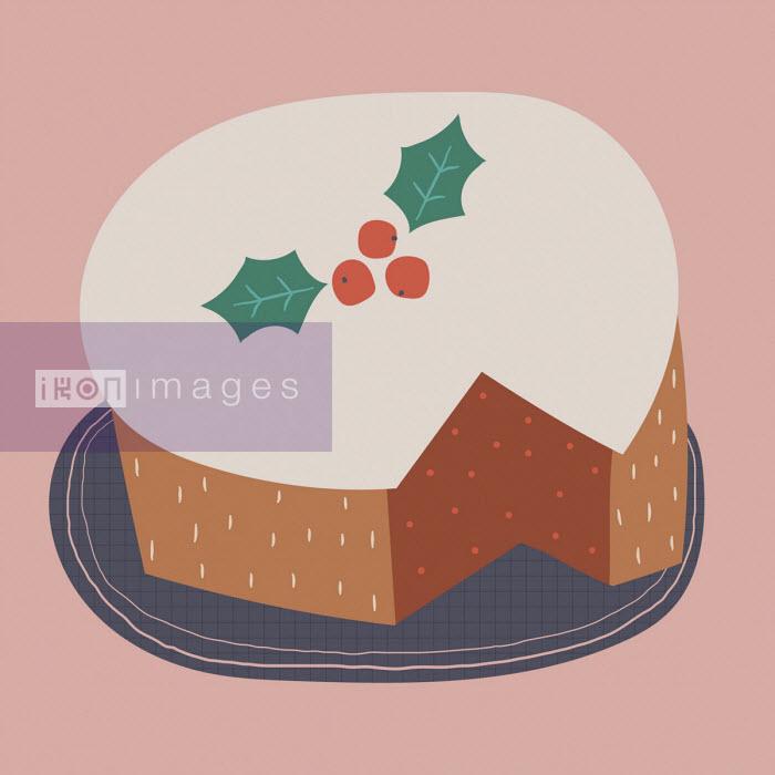 Christmas cake - Alice Potter