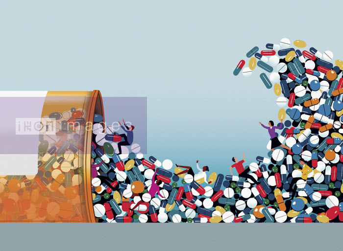 People swept away in tidal wave of pills - Nick Lowndes