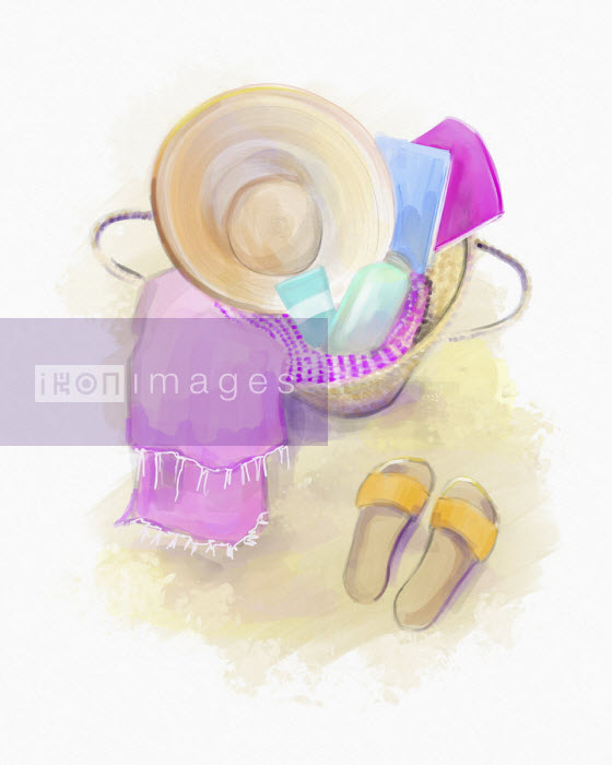 Feminine beach accessories - Stephanie McKay