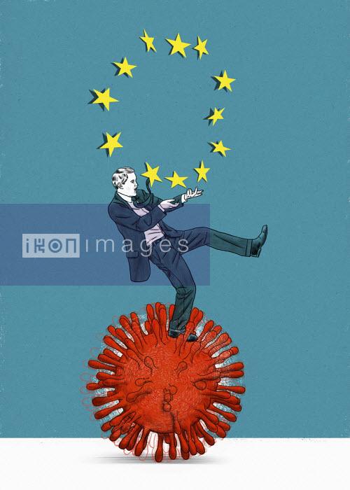 European Union businessman struggling on rolling coronavirus - Thomas Kuhlenbeck