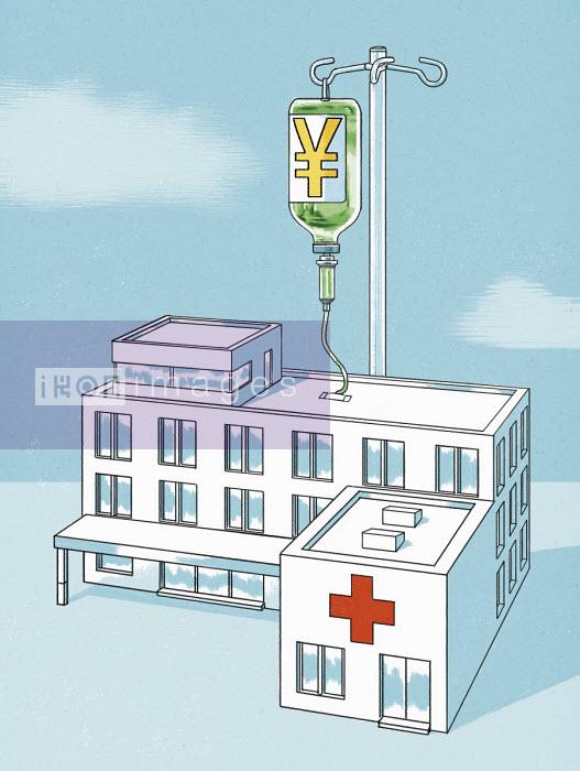 Hospital receiving infusion of yen - Thomas Kuhlenbeck