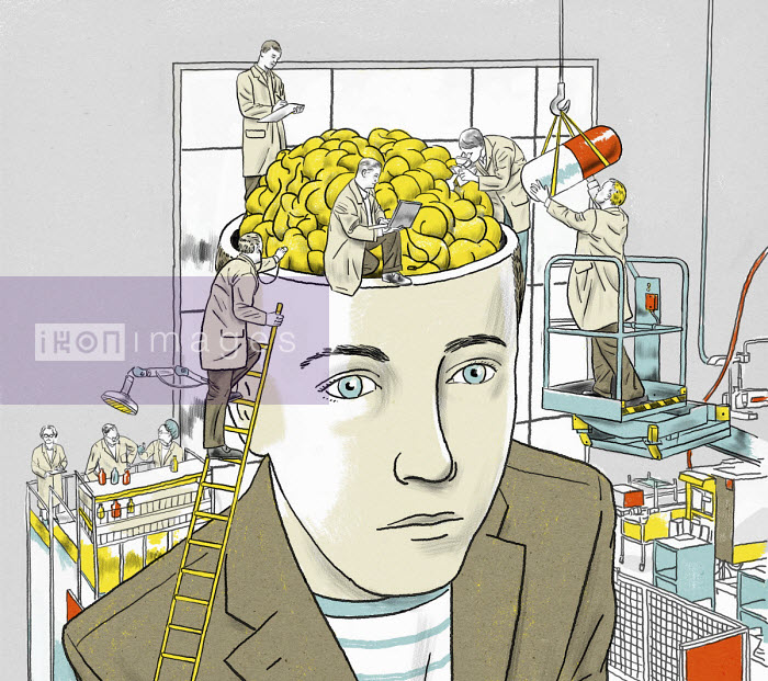 Scientists researching medicine for man's brain - Thomas Kuhlenbeck