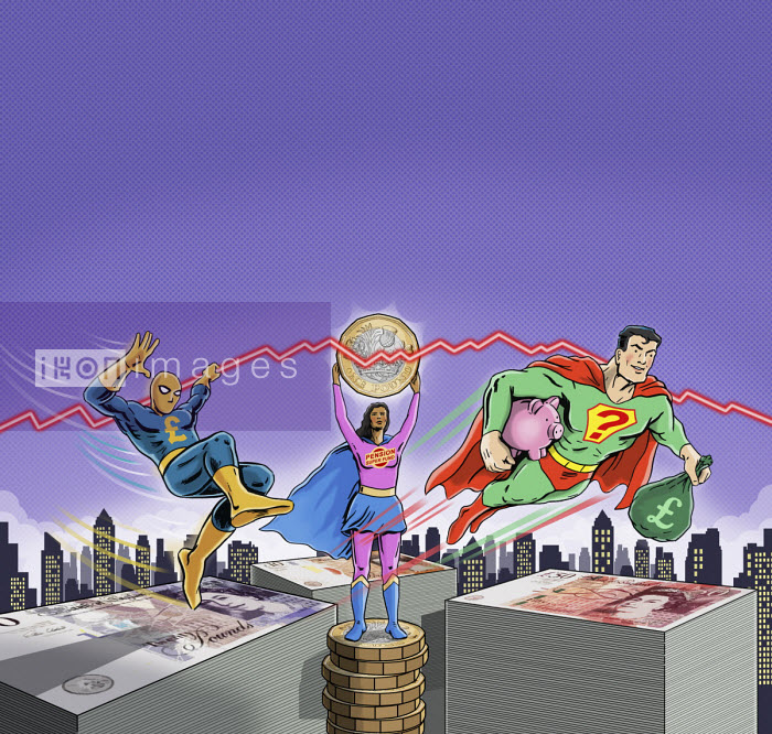 Superheroes protecting savings - Dan Mitchell