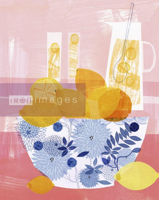 Lemonade made from fresh lemons - Donna Grethen