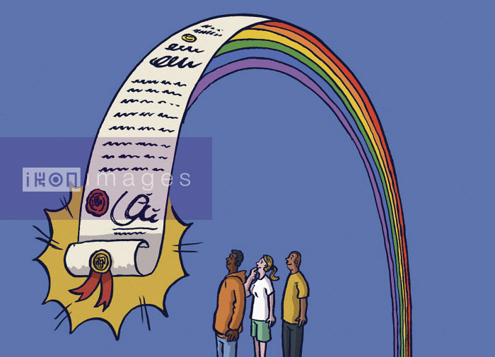 Young people attracted to degree at end of rainbow - Dom McKenzie