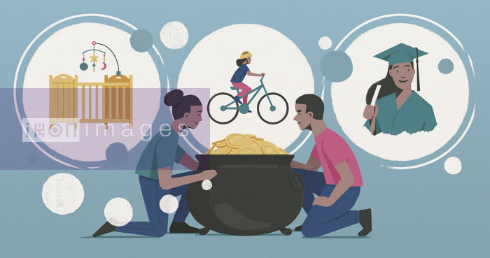 Young couple saving for daughter's future - Paul Reid