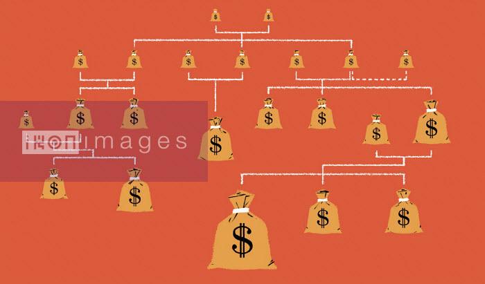Dollar money bags passed down family tree - Matt Harrison Clough