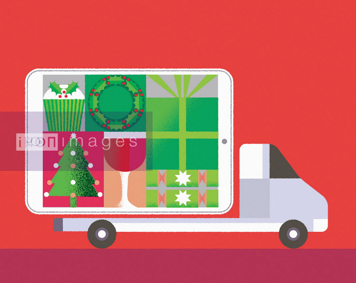 Online Christmas delivery - Gillian Blease