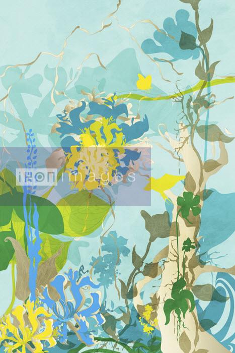 Pastel floral pattern - ET