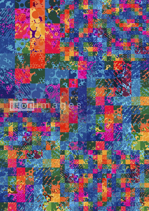 Complex abstract grid pattern - Philippe Intraligi