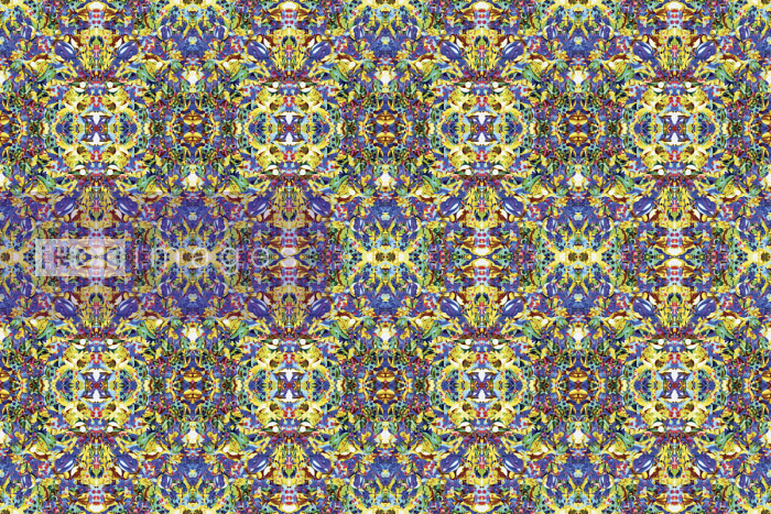 Abstract intricate kaleidoscope pattern - Philippe Intraligi