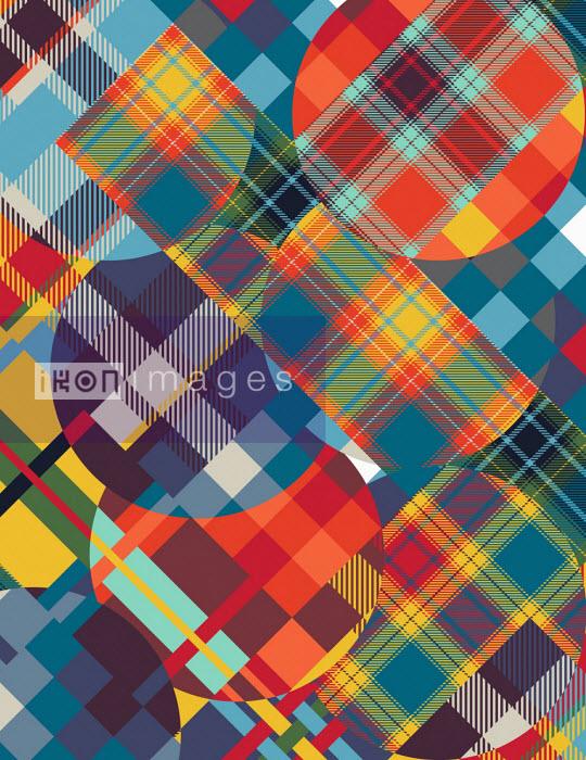Abstract tartan pattern - Philippe Intraligi