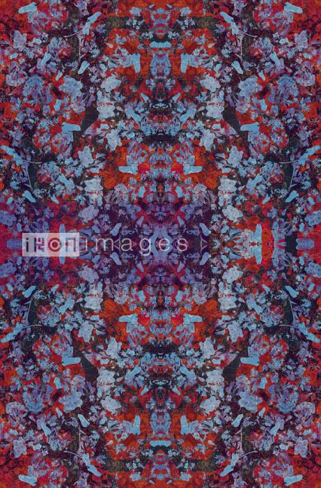 Abstract intricate kaleidoscope pattern - Philippe Intraligi