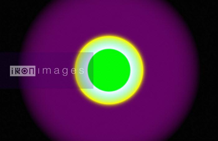 Bright glowing concentric circles - Philippe Intraligi