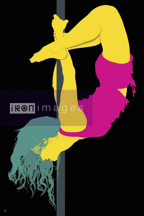 Pole dancer - Paul Garland