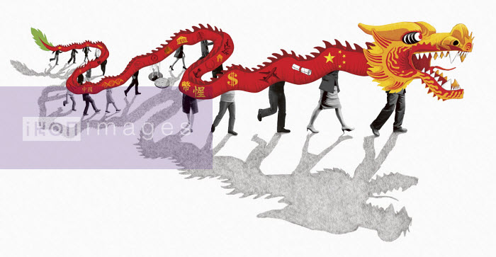 Global dominance of Chinese dragon - Boris Séméniako