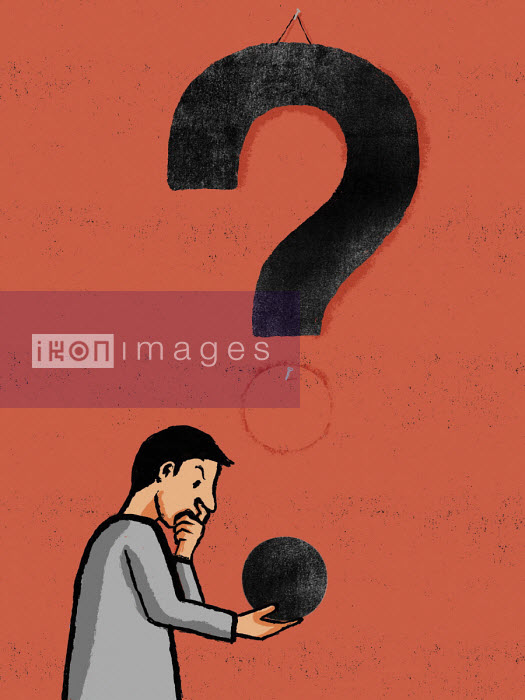 Man thinking about a question - Michael Villegas