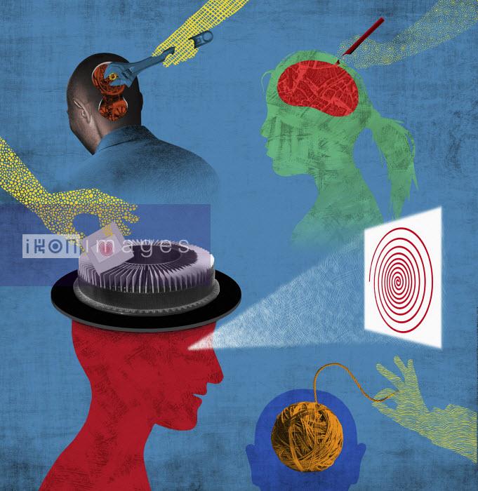 Inside of people's heads - Boris Séméniako