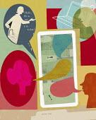 Patients accessing doctor online